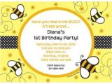 Cheap Bumble Bee Baby Shower Invitations Bumble Bee Personalized Invitation Reduced Tableware