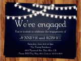 Cheap Engagement Party Invitations Online Rustic Outdoor Chalkboard Cheap Engagement Party