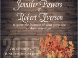 Cheap Fall themed Wedding Invitations Fall Wedding Invitations Samples for Autumn Wedding Ideas