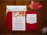Cheap Fall themed Wedding Invitations Templates Fall Wedding Invitation Clip Art with Weddi with
