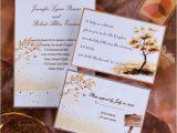 Cheap Fall themed Wedding Invitations top 5 Autumn Fall Wedding Invitation Ideas