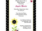 Cheap Ladybug Baby Shower Invitations 12 top Ladybug Baby Shower Invitations