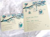 Cheap Love Bird Wedding Invitations Latest Wedding Color Trends Blue Wedding Ideas and
