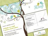 Cheap Love Bird Wedding Invitations Love Birds In A Tree Wedding Invitation Tweet Tweet