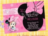 Cheap Minnie Mouse Baby Shower Invitations Baby Minnie Mouse Baby Shower Invitations