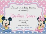 Cheap Minnie Mouse Baby Shower Invitations Baby Shower Invitation Elegant Cheap Minnie Mouse Baby