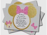 Cheap Minnie Mouse Baby Shower Invitations Baby Shower Invitation Lovely Mickey and Minnie Baby