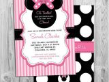 Cheap Minnie Mouse Baby Shower Invitations Nice Decoration Baby Minnie Mouse Shower Invitations