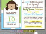 Cheap Monkey Baby Shower Invitations Baby Shower Invitations Best Monkey Baby Shower