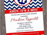 Cheap Nautical Baby Shower Invitations Nautical Baby Boy Shower Invitations Party Xyz