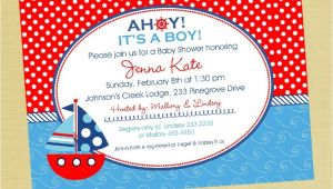 Cheap Nautical Baby Shower Invitations Nautical Baby Shower Invitations Cheap