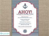 Cheap Nautical Baby Shower Invitations Nautical Baby Shower Invites