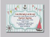 Cheap Personalized Baby Shower Invitations Baby Shower Invitation Unique Cheap Nautical themed Baby