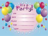 Cheap Personalized Party Invitations Pool Party Birthday Party Invitations Templates Free