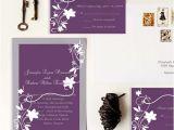Cheap Plum Wedding Invitations Cheap Rustic Floral Plum Wedding Invitations Ewi001 as Low
