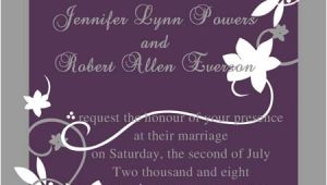 Cheap Plum Wedding Invitations Cheap Rustic Floral Plum Wedding Invitations Ewi001 as Low
