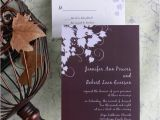 Cheap Plum Wedding Invitations top 5 Fall Wedding Colors for September Brides