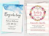 Cheap Printed Baby Shower Invitations 100 Stunning Printable Baby Shower Invitations