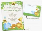 Cheap Safari Baby Shower Invitations 4 Brilliant Free Printable Safari Baby Shower Invitations