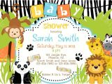 Cheap Safari Baby Shower Invitations Girl Jungle Safari Animal Baby Shower Invitations Tags Saf