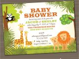 Cheap Safari Baby Shower Invitations Safari Baby Shower Invitations Image