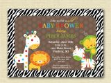 Cheap Safari Baby Shower Invitations Safari Baby Shower Invitations