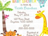 Cheap Safari Baby Shower Invitations Template Safari Baby Shower Invitations