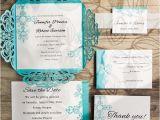 Cheap Tiffany Blue Bridal Shower Invitations Tiffany Blue Swirl Laser Cut Wedding Invitation Kits