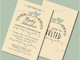 Cheap Vintage Bridal Shower Invitations 9 Vintage Baby Shower Invitations Jpg Vector Eps Ai