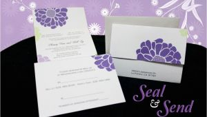 Cheap Wedding Invitations Ebay Wedding Invitations Affordable Seal N Send Invites Rsvp