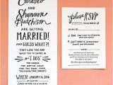 Cheap Wedding Invitations San Diego Hand Lettered San Diego Wedding Invitations San Diego