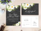 Cheap Wedding Invitations with Free Response Cards Cheap Wedding Invitations with Rsvp Under 2 or Less