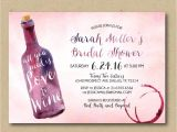 Cheap Wine themed Bridal Shower Invitations Printable Bridal Shower Invitation Wine Shower Invitation