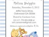 Cheap Winnie the Pooh Baby Shower Invitations 17 Best Images About Baby Shower Pooh Bear On Pinterest