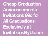 Cheapest Graduation Invitations 17 Best Ideas About Cheap Graduation Announcements On