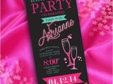 Cheapest Way to Send Wedding Invitations Diy Fun Neon Bachelorette Party Invitation A Cheap and