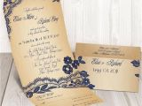 Cheapest Way to Send Wedding Invitations Elegant Lace Seal and Send Wedding Invitation Card Cheap