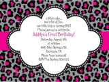 Cheetah Party Invitations Cheetah Print Invitations Free