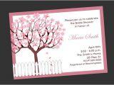 Cherry Blossom Bridal Shower Invitations Cherry Blossom Bridal Shower Invitation by Simply