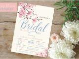 Cherry Blossom Bridal Shower Invitations Cherry Blossom Invite Bridal Shower Invitation Cherry