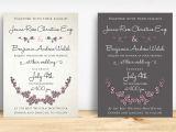 Cherry Blossom Wedding Invitation Template Cherry Blossom Wedding Suite Invitation Templates On