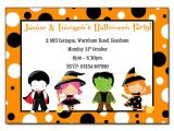 Children S Halloween Party Invitations Childrens Fancy Dress Halloween Party Invitation