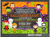 Children S Halloween Party Invitations Halloween Birthday Invitation Kids Halloween Party