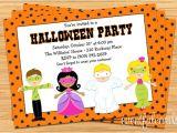 Children S Halloween Party Invitations Kids Halloween Costume Party Invitation Printable