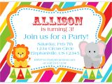 Children's Birthday Invitation Template Art Birthday Party Invitations for Your Kids Free