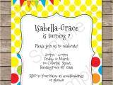 Children's Birthday Invitation Template Colorful Bunting Invitations Template Birthday Party