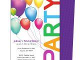 Childrens Birthday Party Invitation Templates Happy Birthday Invitation Templates My Birthday