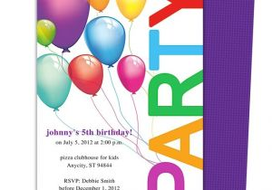 Childrens Birthday Party Invitation Templates Happy Birthday Invitation Templates My Birthday