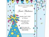 Childrens Party Invitation Template 7 Best Birthday Party Invitation Templates Images On