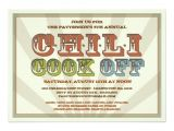 Chili Cook Off Party Invitation Good Old Fashioned Chili Cook F Party Invitation